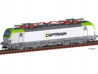 Tillig 04820 elektrická lokomotiva řady 193 Vectron CAPTRAIN VI.epocha