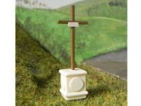BDDP 23409 boží muka kříž výška 6cm