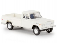Brekina 19801 Jeep Gladiator 1962 bílý