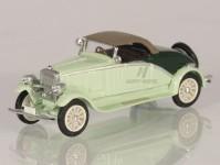 Modelauto 87412SZ Walter 6B 1930-34 cabrio zavřený světlezelený