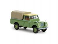 Brekina 13777 Land Rover 109 zavřený zelený