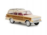 Brekina 19857 Jeep Wagoneer Woody béžový