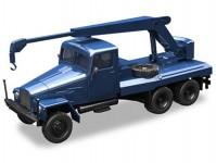 Herpa 308106 IFA G5 autojeřáb modrý