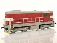 MTB 87052 dieselová lokomotiva 742 086-2 ČD V.epocha