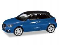 Herpa 034890-002 Audi A1 Sportback modrá metalíza