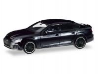 Herpa 038799 Audi A5 Sportback Black Edition černé