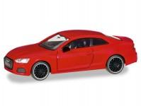 Herpa 038805 Audi A5 Coupé Black Edition červené