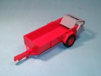 Modelauto 43010 rozmetadlo RUR-5 červené stavebnice
