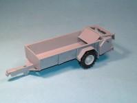 Modelauto 43011 rozmetadlo RUR-5 šedé stavebnice