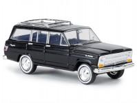Brekina 19862 Jeep Wagoneer černý