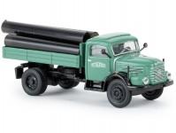 Brekina 58045 Steyr 480 Schwarzbau s nákladem rour