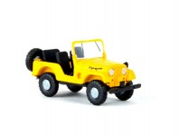 Brekina 58905 Jeep Universal žlutý