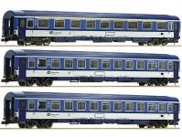 Fleischmann 881807 set vlaku EC Porta Bohemica (díl 2) ČD VI.epocha