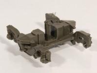 Roco 117306 podvozek FIAT pro osobní vůz Hobby 1:100 šedý