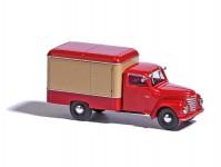 Busch 52002 Framo V901/2 skříň, červený/béžový