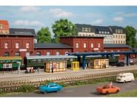 Auhagen 13343 vybavení nádraží