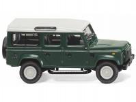 Wiking 10202 Land Rover Defender 110 tmavě zelený