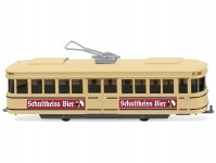 Wiking 75001 model tramvaje Schultheiss-Bier