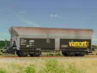 SDV 12075 samovýsypný vůz Falls 54 Viamont V-VI.epocha