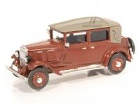 Modelauto 87427V Walter Standard cabriolet zavřený 1930 vínový