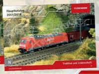 Fleischmann 990118 katalog Fleischmann N 2018/2019 německy