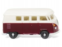 VW T1 Bus vínový/bílý