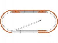 Roco 51250 doplňkový kolejový set k základní sadě