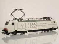 elektrická lokomotiva BR 186 CRS 4 pantografy VI.epocha