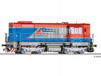 Tillig 02759 dieselová lokomotiva řady 740 Lokorail a.s. V.epocha