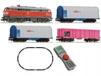 digitální set nákladního vlaku s lokomotivou řady 218 DBAG V-VI.epocha