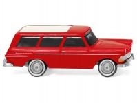 Wiking 07149 Opel Rekord Caravan 1961 červený
