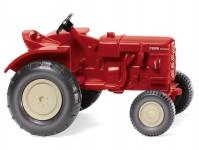 Wiking 87705 Fahr traktor červený