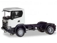 Herpa 309769 Scania CG 4x4 tahač bílá