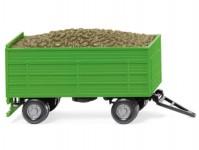 Wiking 38815 přívěs s nákladem červené řepy zelený
