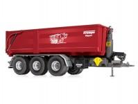 Wiking 77826 přívěs Krampe Hakenlift THL 30L se sklápěcím kontejnérem Big Body 750