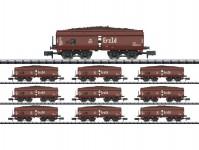 Trix 15449 set vozů OOtz 44 DB III.epocha