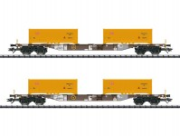 Trix 24136 set kontejnerových vozů Sgns AAE/DB VI.epocha