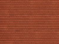 Noch 56670 3D střešní tašky červené