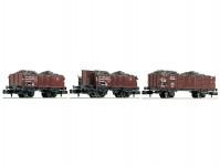 Fleischmann 820802 set vozů na uhlí DRB II.epocha