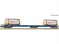Fleischmann 825338 dvojitý kontejnerový vůz Sggmrs AAE VI.epocha