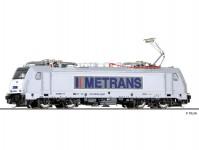 Tillig 04926 elektrická lokomotiva řady 386 METRANS VI.epocha