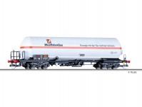Tillig 15042 vůz na přepravu plynu WASCOSA / Westfalengas (NL) VI.epocha