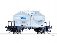 Tillig 17705 vůz na prachové materiály GATX Rail Germany GmbH VI.epocha