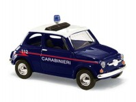 Busch 48728 Fiat 500 Carabinieri