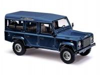 Busch 50352 Land Rover Defender modrá metalíza