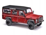 Busch 50353 Land Rover Defender červená metalíza
