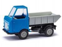Busch 210003501 Multicar M22 sklápěcí modrý