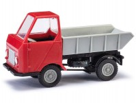 Busch 210003503 Multicar M22 sklápěcí červený