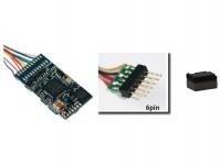 ESU 58416 zvukový dekodér LokSound 5 DCC/MM/SX/M4 prázdný 6-pin NEM651