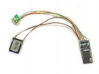 ESU 58810 zvukový dekodér LokSound 5 micro DCC/MM/SX/M4 prázdný 8-pin NEM652
